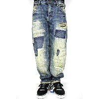 """PRPS(ピーアールピーエス)/ """"E69P98X"""" VINTAGE WASHED DENIM (BARRACUDA FIT)(デニムパンツ)"""