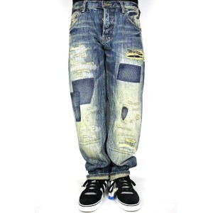 "PRPS(ピーアールピーエス)/ ""E69P98X"" VINTAGE WASHED DENIM (BARRACUDA FIT)(デニムパンツ)"
