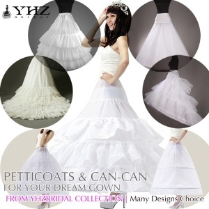 Ball Gown High Quality Can-Can Pannier/Petticoat for Wedding Dress Grab it to enhance your gown