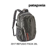 2017 PATAGONIA パタゴニア バックパック REFUGIO PACK 28L FGE FORGE GREY