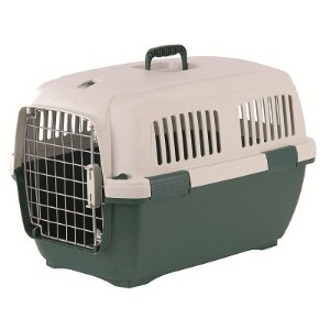 Marchioro Clipper Cayman 3 Pet Carrier, 25-inches, Tan/Green by Marchioro