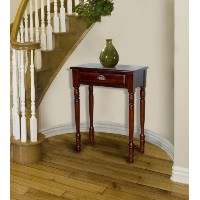 D-ART Savana Entrance Hall Table 1 Drawer in Mahogany Wood by D-Art Collection
