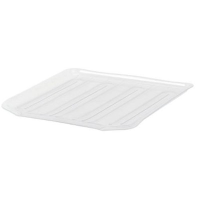 Rubbermaid Antimicrobial Drain Board Large, Clear by Rubbermaid