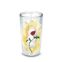 Tervis Disney Beauty and the Beast :ローズ16オンスタンブラー