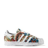 adidas Originals SUPERSTAR W(アディダス オリジナルス スーパースター W)RUNNING WHITE/RUNNING WHITE/NOBLE TEAL【メンズ...
