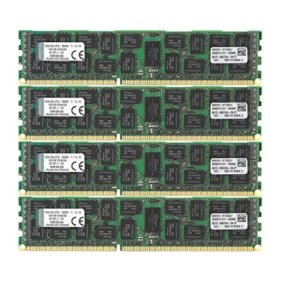 キングストン Kingston メモリー DDR3 1600MHz 16GBx4枚 ECC CL11 2R X4 1.5V Registered DIMM Intel Validated...