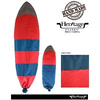 DESIVELL HELITAGE CLASSIC ボードケース MULTI NOSE HYBRID&RETRO CASE(NAVY-RED) 200CMx62CM ハイブリッド/ミニシモンズ...
