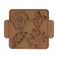 Nordic Ware Halloween/Harvest Cookie Cutter Plaques by Nordic Ware