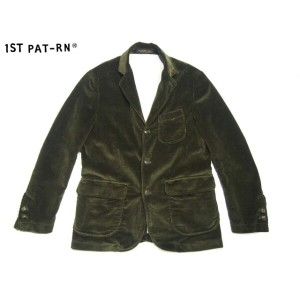 【期間限定30%OFF!】1ST PAT-RN(FIRST PATTERN/ファーストパターン)/COTTON CORDUROY WOODY BLAZER/sage