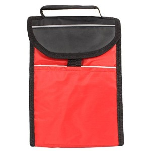 on-the-go soft-sided Insulated Red Lunch Toteバッグby bogoブランド レッド 4328234583