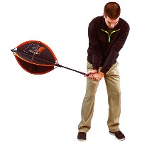 F4 Turbo Collapsible Resistance Golf Swing Trainer【ゴルフ 練習器具】