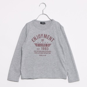 【SALE 36%OFF】コムサイズム COMME CA ISM プリントTシャツ (グレー)