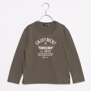 【SALE 36%OFF】コムサイズム COMME CA ISM プリントTシャツ (カーキ)