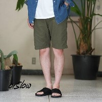 orSlow(オアスロウ)/UNISEX NEW YORKER SHORTS -(76)ARMY GREEN -