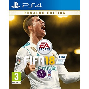 FIFA 18 Ronaldo Pre-Order Edition (PS4) - from UK.