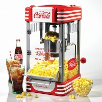 コカコーラシリーズRKP630COKEやかんのポップコーンメーカー Nostalgia Electrics Coca Cola Series RKP630COKE Kettle Popcorn...