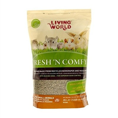 Living World Fresh'n Comfy Bedding, 20-Liter, Tan by Living World