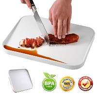 Chopping Board withジュースGroove、キッチンカッティングボードfor Meat & Vegetable Multipurpose BBQ Chopping Board 14...