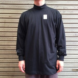 CAMBER / made in U.S.A L/S JERSEY SOLID MOCK TURTLE TEEキャンバー モックネック