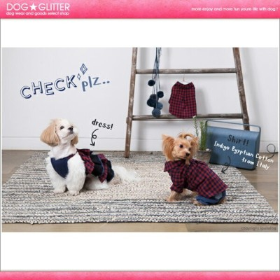 ルイスドッグ LouisDog Check Plz Shirt【RCP】【HLS_DU】