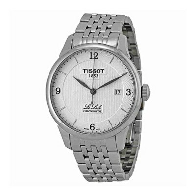 ティソ Tissot 腕時計 メンズ 時計 Tissot Men's T0064081103700 Le Locle Analog Display Swiss Automatic Silver...