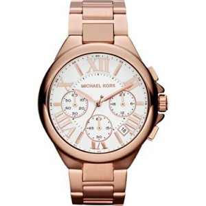 マイケルコース Michael Kors レディース 腕時計 時計 Michael Kors Camille Rose Gold Watch Mk5757