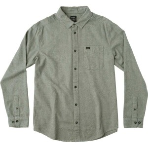 ルーカ メンズ トップス シャツ【Curren Static Long - Sleeve Button - Down Shirts】Greyskull