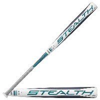イーストン レディース 野球【Easton Stealth Flex Fastpitch Bat】White/Grey/Blue