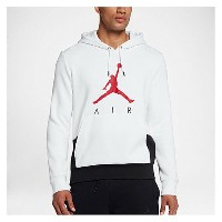 ナイキ ジョーダン メンズ トップス パーカー【Jordan Jumpman Air Graphic Pull Over Hoodie】White/Black/University Red