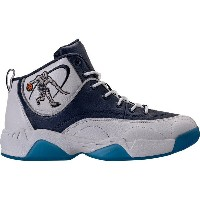 アンドワン メンズ バスケットボール スポーツ Men's AND1 Coney Island Classic Basketball Shoes Black/White/Navy