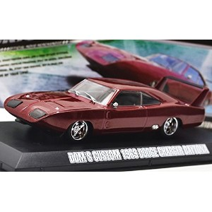 "GREENLIGHT 1:43scale ""FAST & FURIOUS 6"" ""DOM'S CUSTOM 1969 DODGE CHARGER DAYTONA""(RED)  グリーンライト 1..."