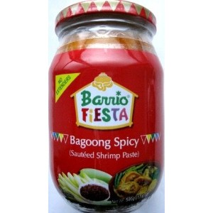 Bagoong Sauteed Shrimp Paste Spicy(L) 小エビのソテー スパイシー 500g Barrio Fiesta