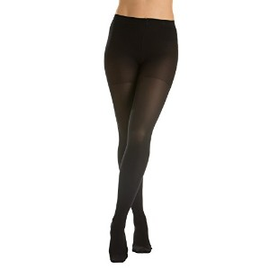 GABRIALLA Sheer Pantyhose, Compression (20-22 mmHg) Black, Queen by GABRIALLA