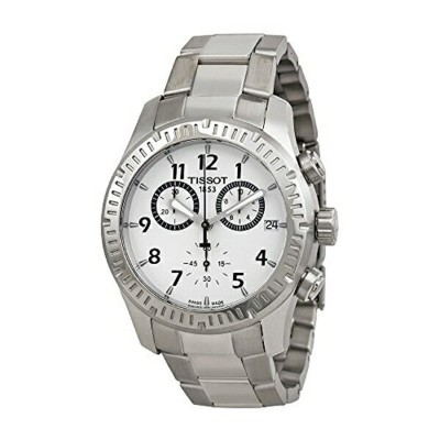 ティソ Tissot 腕時計 メンズ 時計 Tissot Men's T0394171103700 Analog Display Quartz Silver Watch