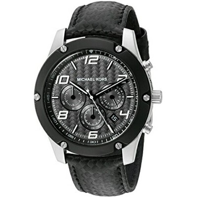マイケルコース Michael Kors メンズ 腕時計 時計 Michael Kors Men's Caine Silver-Tone Watch MK8488