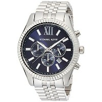 マイケルコース Michael Kors メンズ 腕時計 時計 Michael Kors Men's Chronograph Lexington Stainless Steel Bracelet...