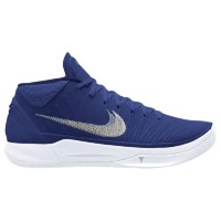 (取寄)Nike ナイキ メンズ コービー A.D. バスケットシューズ Nike Men's Kobe A.D. Midnight Navy Metallic Silver White
