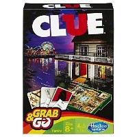 Clue Grab and Go Game...Kids Toy Fun Games Childrens Play Toys ^G#fbhre-h4 8rdsf-tg1337142