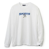 INTERBREED インターブリード ACTIVE SERVICE Disney × Interbreed Goofy Sports LS Tee 長袖 ロンT TEIJIN ホワイト