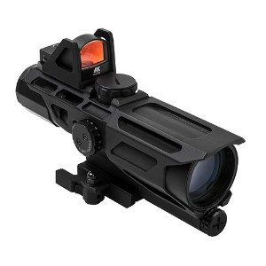 NC Star NcStar gen3ussx 40mm、3–9x 40mm、p3Sniper Reticle withレッドドット、1サイズ