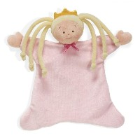 North American Bear 8.5 Little Princess Cozie Blankie, Blonde by North American Bear