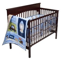Circo Baby Here, There and Everywhere 3pc Baby Boy Crib Set by Circo