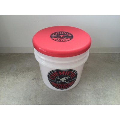 CHEMICAL GUYS BUCKET & CAP(RED)