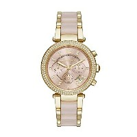 マイケルコース Michael Kors レディース 腕時計 時計 Michael Kors MK6326 Ladies Parker Blush Chronograph Watch