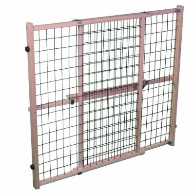 MyPet Extra Wide Wire Mesh Pet Gate by North States