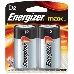 BATTERY、ENERGIZER MAX、D 2 PK.-E95BP2ENE