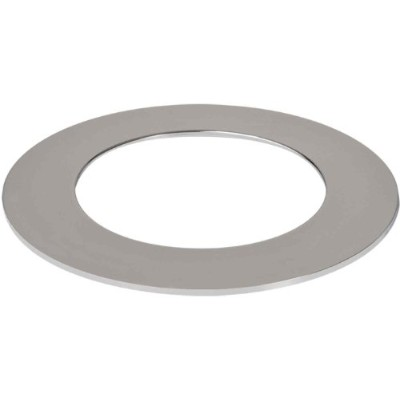 Halo Recessed TRM400PC 4-Inch LED Accessory Slim Ring, Polished Chrome by Halo Recessed
