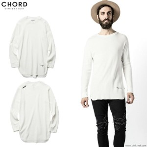 ★SALE 30%OFF★【CHORD#8/コードナンバーエイト】CHORD NUMBER EIGHT L.S LONG THERMAL (WHITE) [N8M1F5-CS02]★楽天 スーパー...