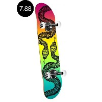 【POWELL PERALTA パウエル・ペラルタ】7.88in x 31.67in SNAKES COLBY FADE COMPLETEコンプリートデッキ(完成組立品)スケートボード スケボー...