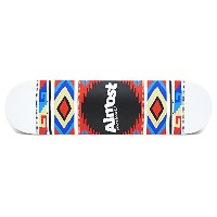 ALMOST DECK(オールモスト)デッキ TEAM AZTEK BLANKET WHITE・8.0